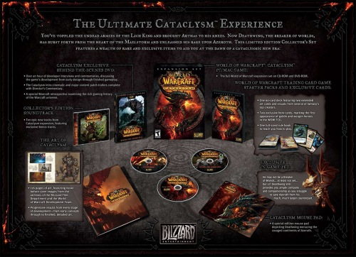 Cataclysm Collectors Edition Contents
