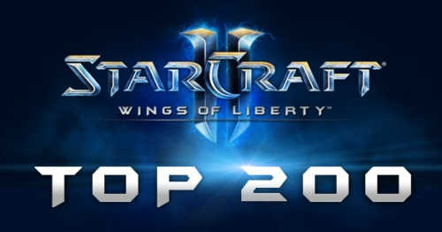 Top 200 EU Starcraft 2