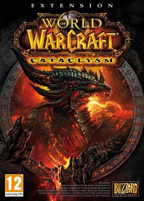World of Warcraft Cataclysm Box Art