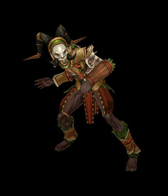 male witch doctor