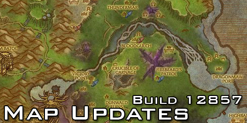 Cataclysm Map Updates
