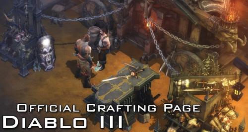 Diablo 3 Crafting Page