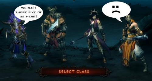 Diablo 3 Fifth Class