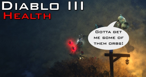 Diablo Health Orbs