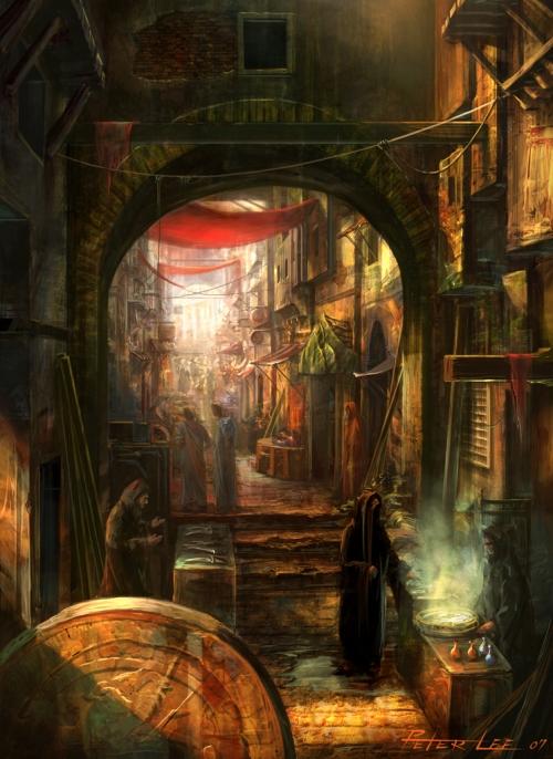 Diablo III Concept City