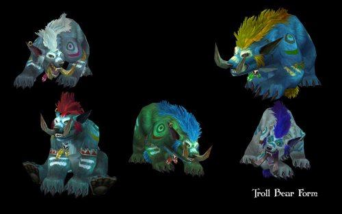 Troll Bear Form