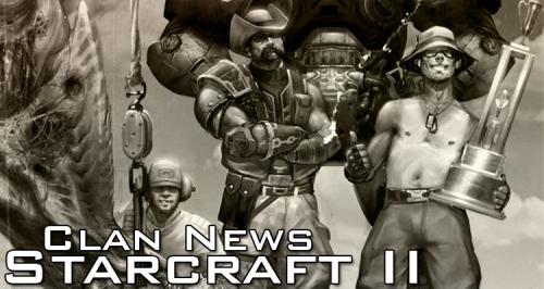 Starcraft II Clan News