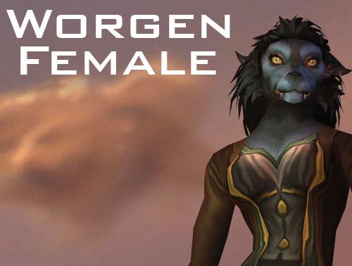 Worgen Female
