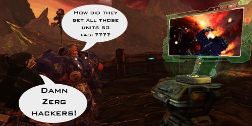 Zerg Starcraft 2 Hackers