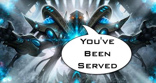 Blizzard Served