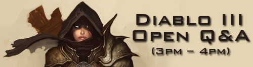 BlizzCon Diablo 3 Open Q&A