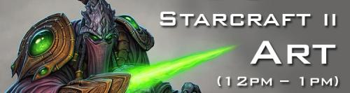 BlizzCon Starcraft 2 Art