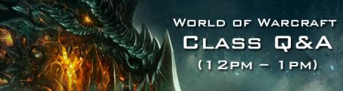 BlizzCon Warcraft Class Q&A