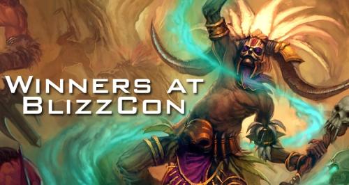 BlizzCon Winners