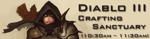 Diablo 3 Crafting Sanctuary