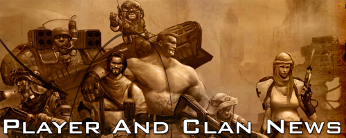 Player and Clan news