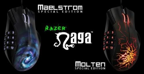Razer Naga Molten And Maelstrom