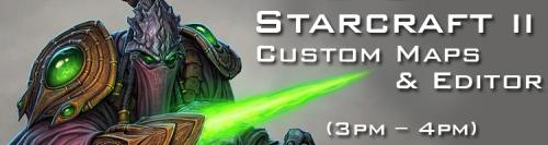 Starcraft 2 Custom Maps and Editor