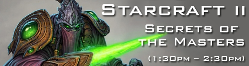 Starcraft 2 Secrets of the Masters