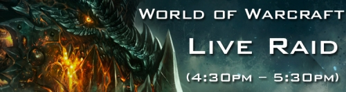 Warcraft Live Raid