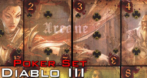 Diablo 3 Poker Set