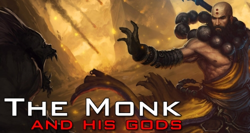 Monk and his gods