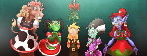 Blizzard Holiday Contests