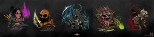 Cute Diablo III Characters