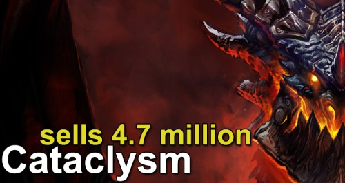 Cataclysm Sales Records