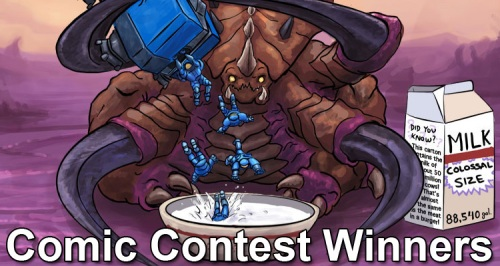 Comic Contest Winners