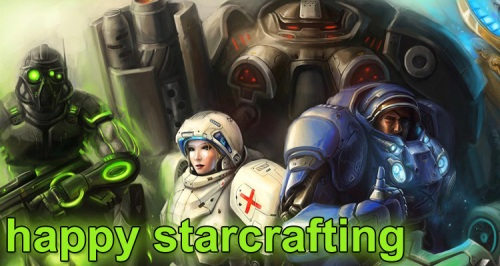 Happy Starcrafting