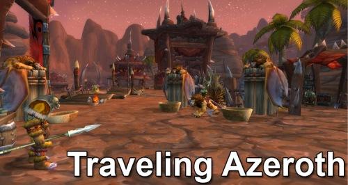Traveling Azeroth